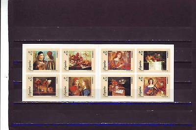 Spain - Sg3895-3902 Mnh 2002 Music - Self Adhesive Booklet