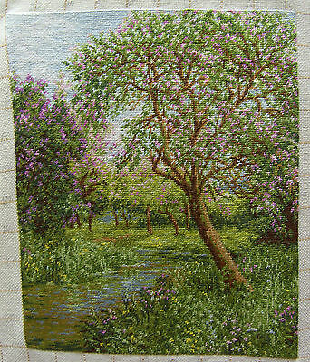 Spring time (Goblenset 754 ) - Finished completed Cross Stitch