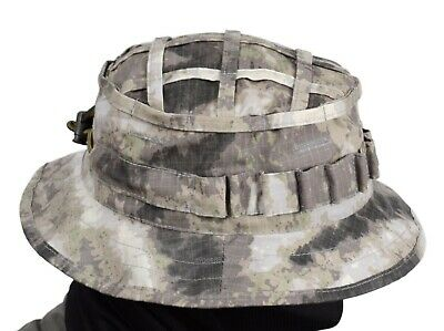 "Boonie hat ""Scout"" with IR remission A-TACS AU Odinn 1 Day shipping Russian army"