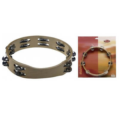 "Stagg 10"" Headless Wooden Tambourine"