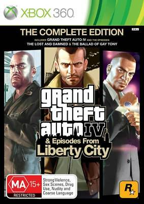 Grand Theft Auto GTA The Complete Edition Xbox 360 Game NEW
