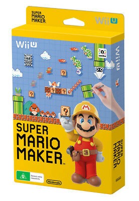 Super Mario Maker Standard Edition Pack Wii U Game NEW