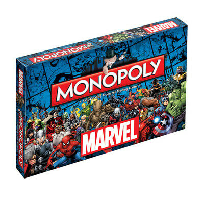 MONOPOLY Marvel Board Game NEW