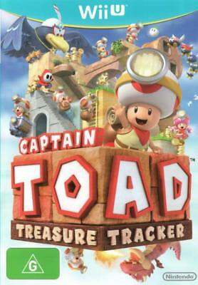WII U Captain Toad Treasure Tracker Brand New Australian Stock