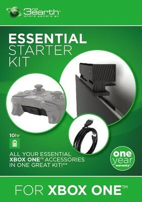 Xbox One Starter Kit Inc Kinect Stand Play & Charge Cable & HDMI Cable Brand New
