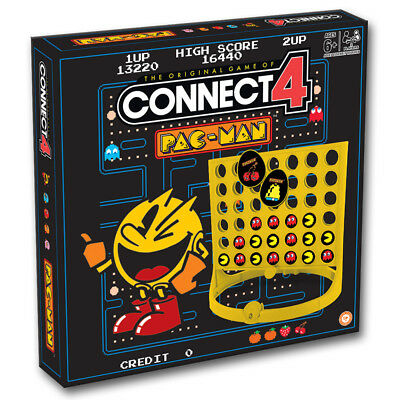 Pac-Man Connect 4 Board Game NEW