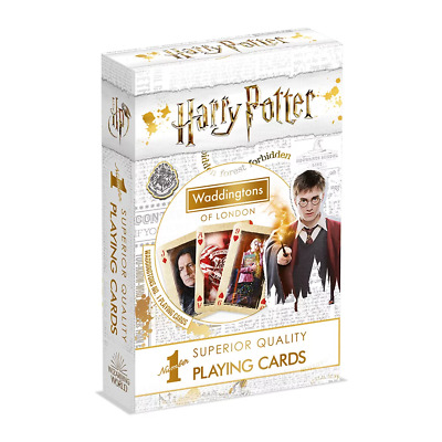 Waddingtons World of Harry Potter Playing Cards NEW