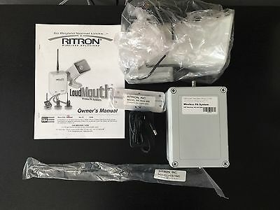 New Ritron LoudMouth Wireless PA System