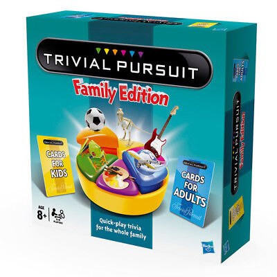 Trivial Pursuit Family Edition Board Game NEW