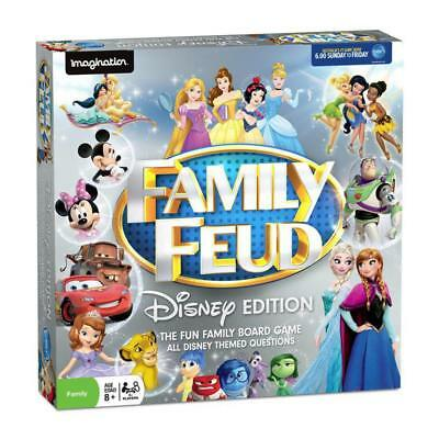 Family Feud Disney Edition Board Game NEW