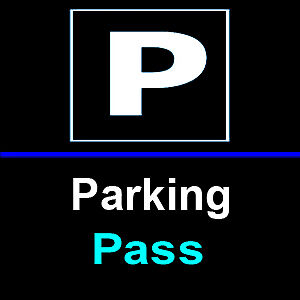 1 PARKING PASS PARKING PASSES ONLY Redskins at Bears 12/24 Soldier Field Parking