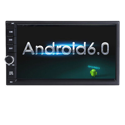 "Android 5.1 QuadCore Universal GPS DAB+ TV 7""2Din Car InDash Stereo Radio Player"