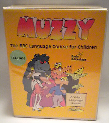 BBC Muzzy Italian language for children DVD / book set 2005