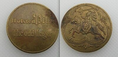 Collectable Holsten Pils Token - The Odd Lager - Knight On Horse Back - Lot 1