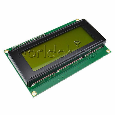 Yellow Display IIC/I2C/TWI/SP​​I Serial Interface 2004 Character LCD Module NEW