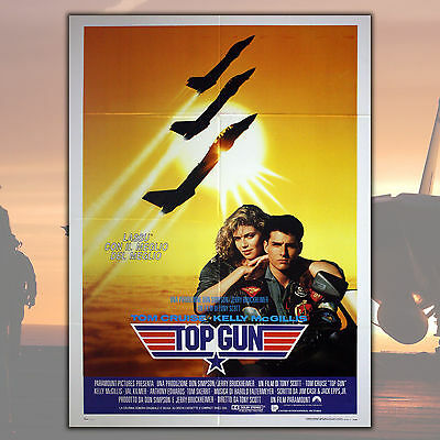 Original Poster Top Gun - Size: 100x140 CM - Tom Cruise