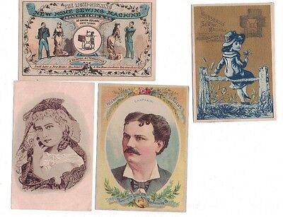 Victorian Trading Cards, Sewing Machine, Singer, New Home, Domestic, Household