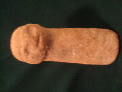 """Pre-Columbian Pestle Figural 5"""" Dug By Owner In Dominican Republic 35 Years Ago"""
