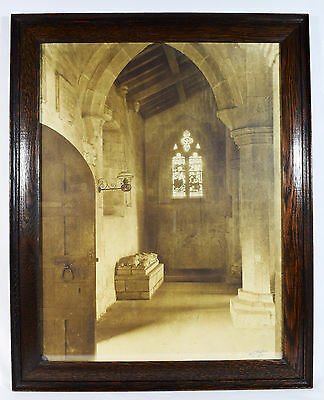 Rare V. Large Photogravure, Framed, Large, Signed and Dated 1919