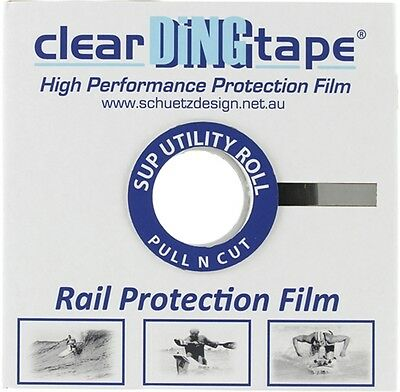 CLEAR DING TAPE SUP RAIL FILM LARGE ROLL 48mmX50m