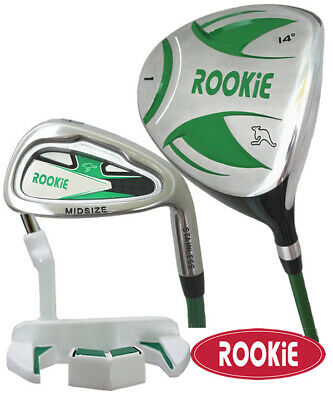 JUNIOR GOLF SET 3 PCE for KIDS 7 to 10yrs LATEST MODEL CHILDRENS GOLF CLUBS