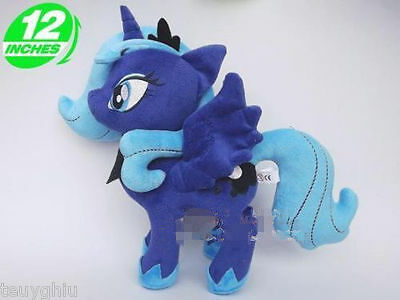 My Little Pony Princess Luna/Night Mare Moon Q cute Lovely plush toy 12 INCHES