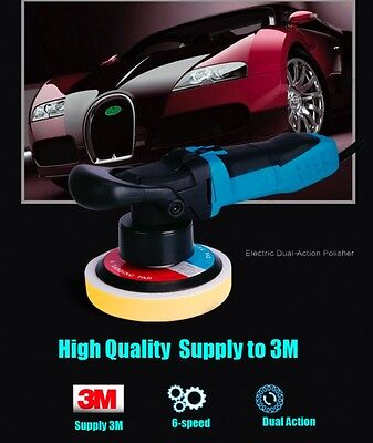 Dual Action Polishing Machine Car Polisher Cleaner 220v 600w AU EU UK PLUG