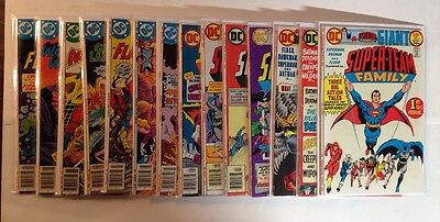 Super Team Family 1-15 Complete Lot Set Run 1 VF 2 FN 3-4 VF  5-15 Near Mint