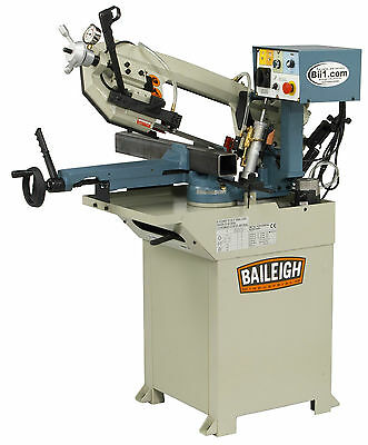Band Saw Horizontal Industrial Workshop Baileigh Part No BS-210M