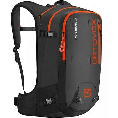 Ortovox Haute Route 32 Unisex Rucksack Snow Backpack - Black Anthracite One Size