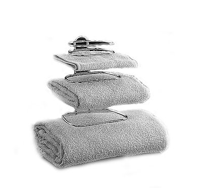 Taymor Hotel Two Guest Towel Holders Chrome