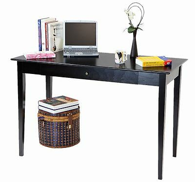 Frenchi Home Furnishing Computer/Writing Desk with Drawer Espresso Finish