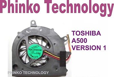 CPU Cooling FAN for Toshiba Satellite A500 A505 version 1