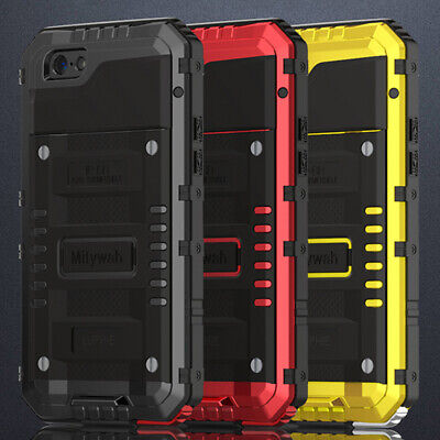For iPhone X 8 Plus Case Luphie Shockproof Waterproof Gorilla Metal Armor Cover