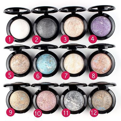 Shimmer Eye Shadow Powder Palette Metallic Eyeshadow Sombras de ojos Makeup