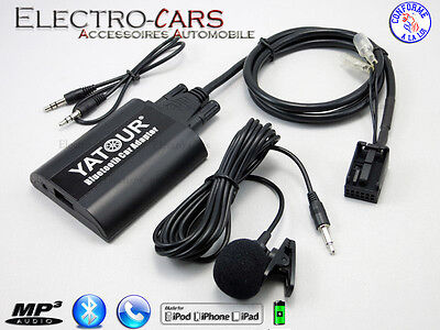 Bluetooth Interface Auxiliaire Mp3 Autoradio Compatible Citroen Rt3 Can