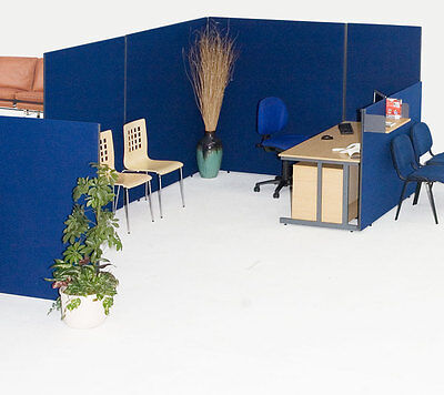 Office divider screen linking partition GLK12080 Free Delivery 3 Year Guarantee