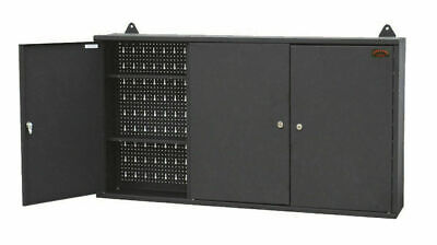 Large Wall Mount Hanging Tool Box Garage Storage Cupboard Metal Chest Cabinet
