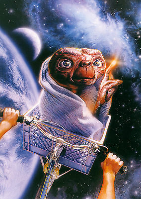 E.T. the Extra-Terrestrial (1982) V5 - A1/A2 POSTER **BUY ANY 2 AND GET 1 FREE**