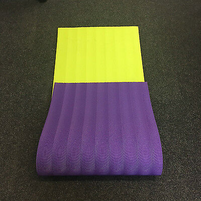 EVA Yoga Mat 10mm Thick Exercise Fitness Pilates Camping Gym Mats Non Slip