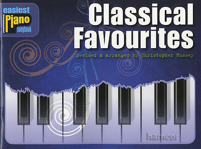 Classical Favourites Easiest Piano Songbook Very Easy Music Book