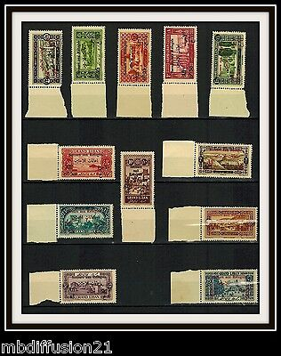 1926-GRAND LIBAN-COLONIE-SERIE TIMBRES NEUFS**STAMP-SURCHARGE..Yt.63/74