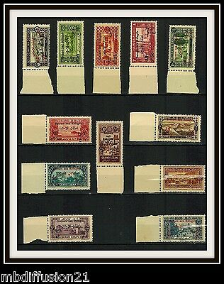 1926/grand-Liban.colonie/serie Timbres//neufs**stamp/surcharge/y/t.63/74