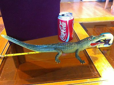 Crocodile Alligator Wild Animal Huge Toy 15 Inches Long Made by Imperial