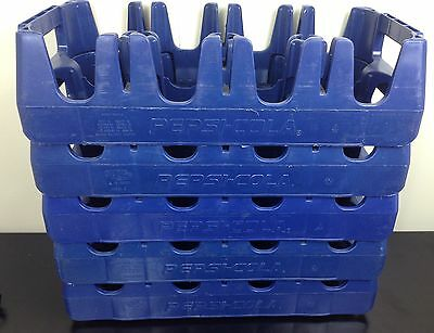 Authentic Pepsi Cola Huskylite 2 Liter Plastic Crate Carrier Holds 8