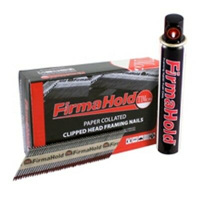 Firmahold PASLODE Type 1st Fix Clipped Head Framing Nails 1100pcs & Fuel Cell