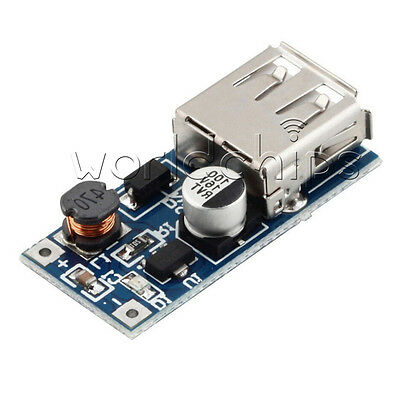5PCS 0.9V-5V to 5V DC-DC Booster Module USB Mobile Step-up Power Supply Module