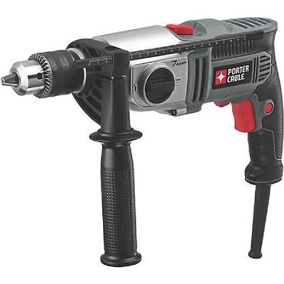 """Porter-Cable Tradesman 1/2"""" VSR 2-Speed 7.0 Amp Hammer Drill PC70THD NEW"""