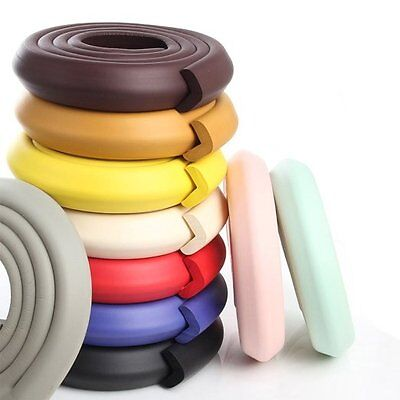 EXTRA THICK WIDE Baby Edge Guard Soft Foam Protector Bumpers + 4 Corners Cushion