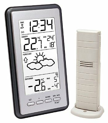 La Crosse Technology WS9130IT-S-MEG Weather Station with Indoor / Outdoor Temper